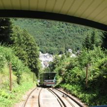 Funiculaire in Le Mont-Dore