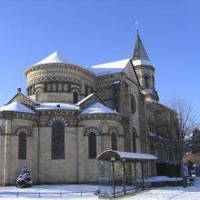 L'église de La Bourboule