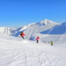 Skiing at Le Mont-Dore